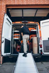 911-restoration-van-equipment